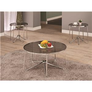 Coaster Occasional Table Sets Coffee Table And End Table