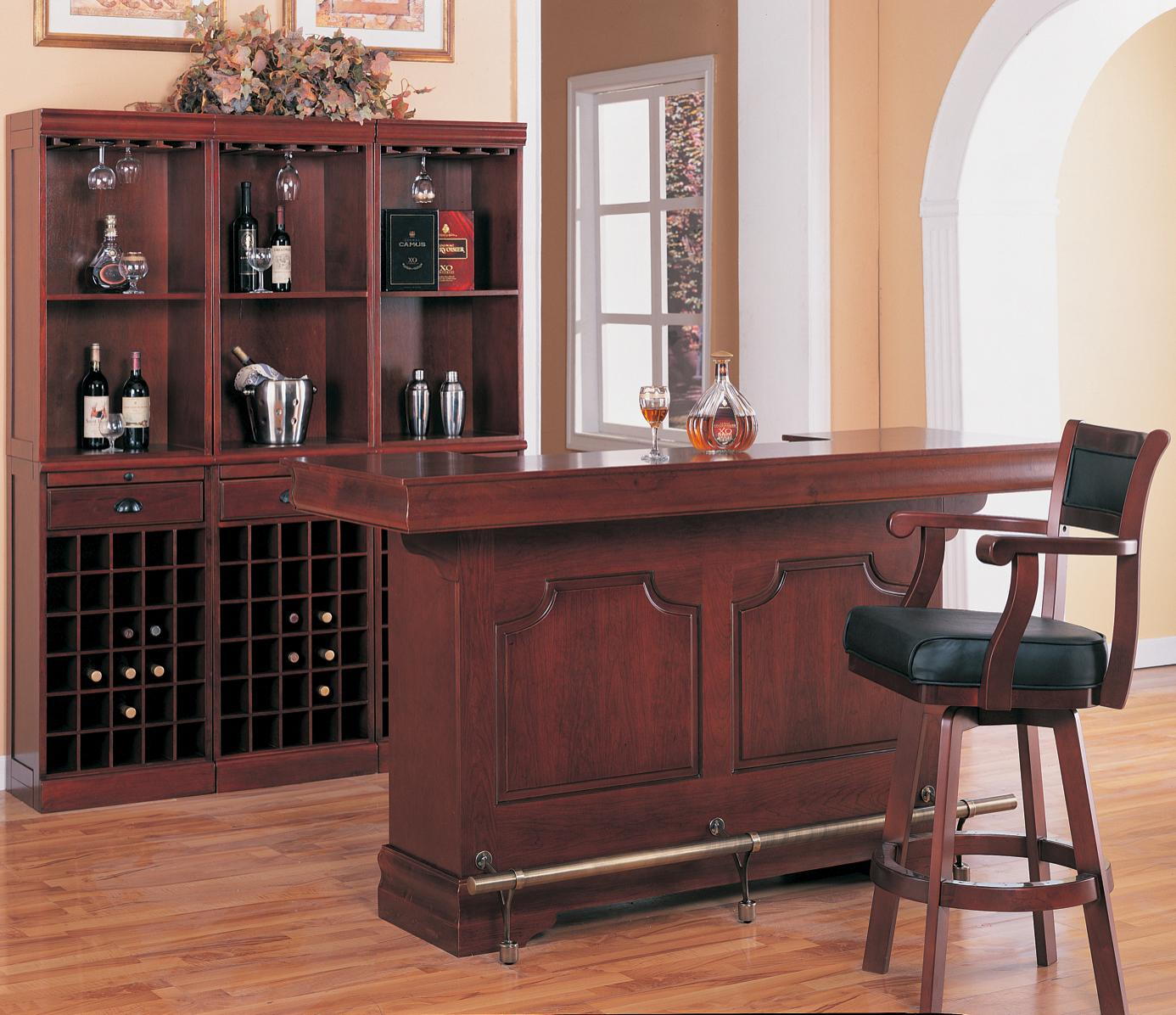 Coaster Lambert Traditional Bar Unit With Sink   Coaster Fine Furniture