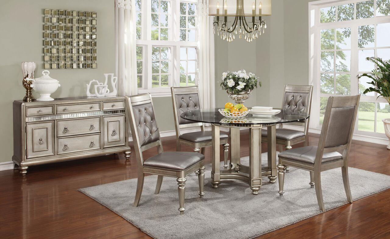 coaster danette rectangular dining table set with leaf coaster