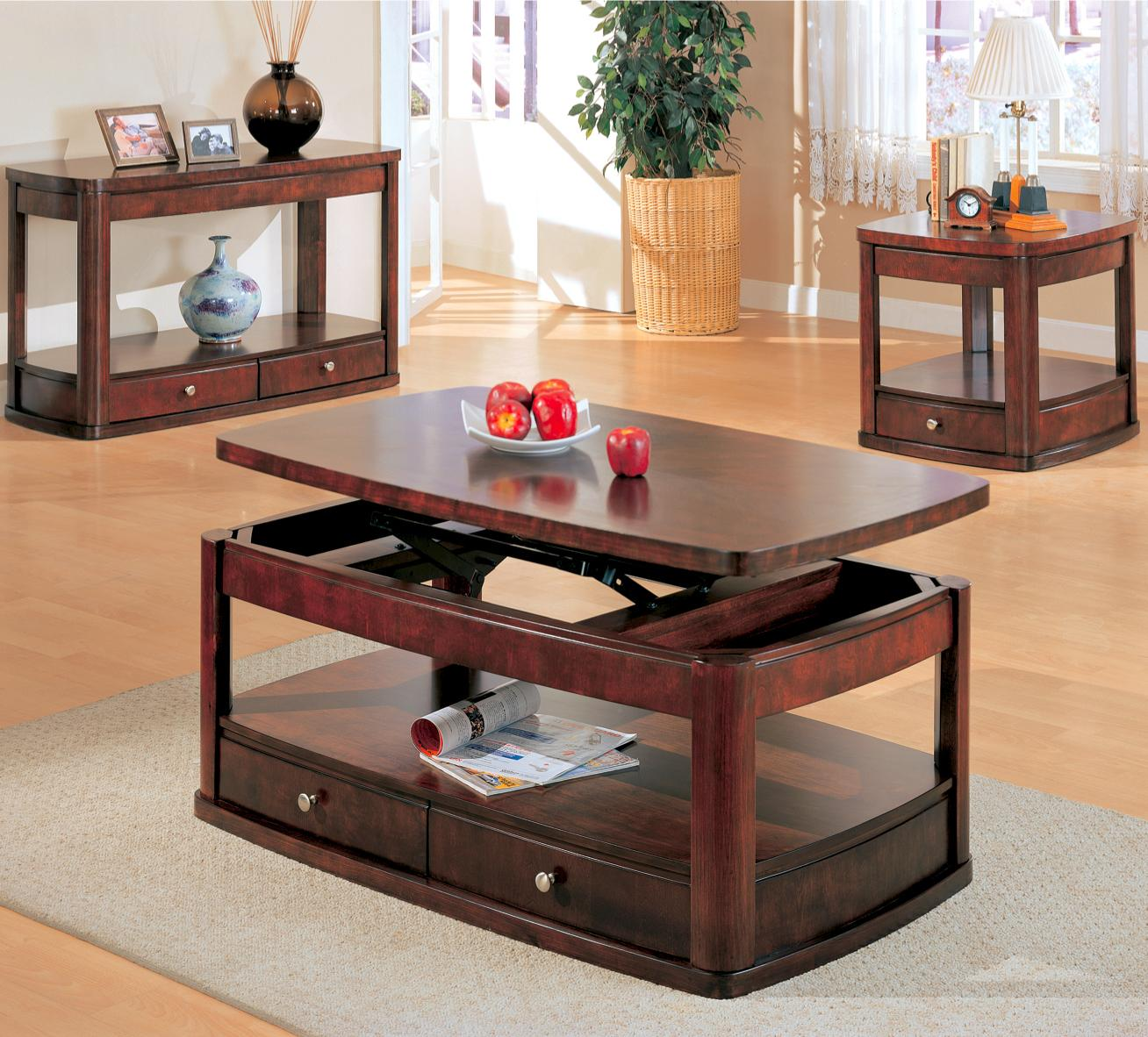 furniture top with coffee modern fayette table storage lift