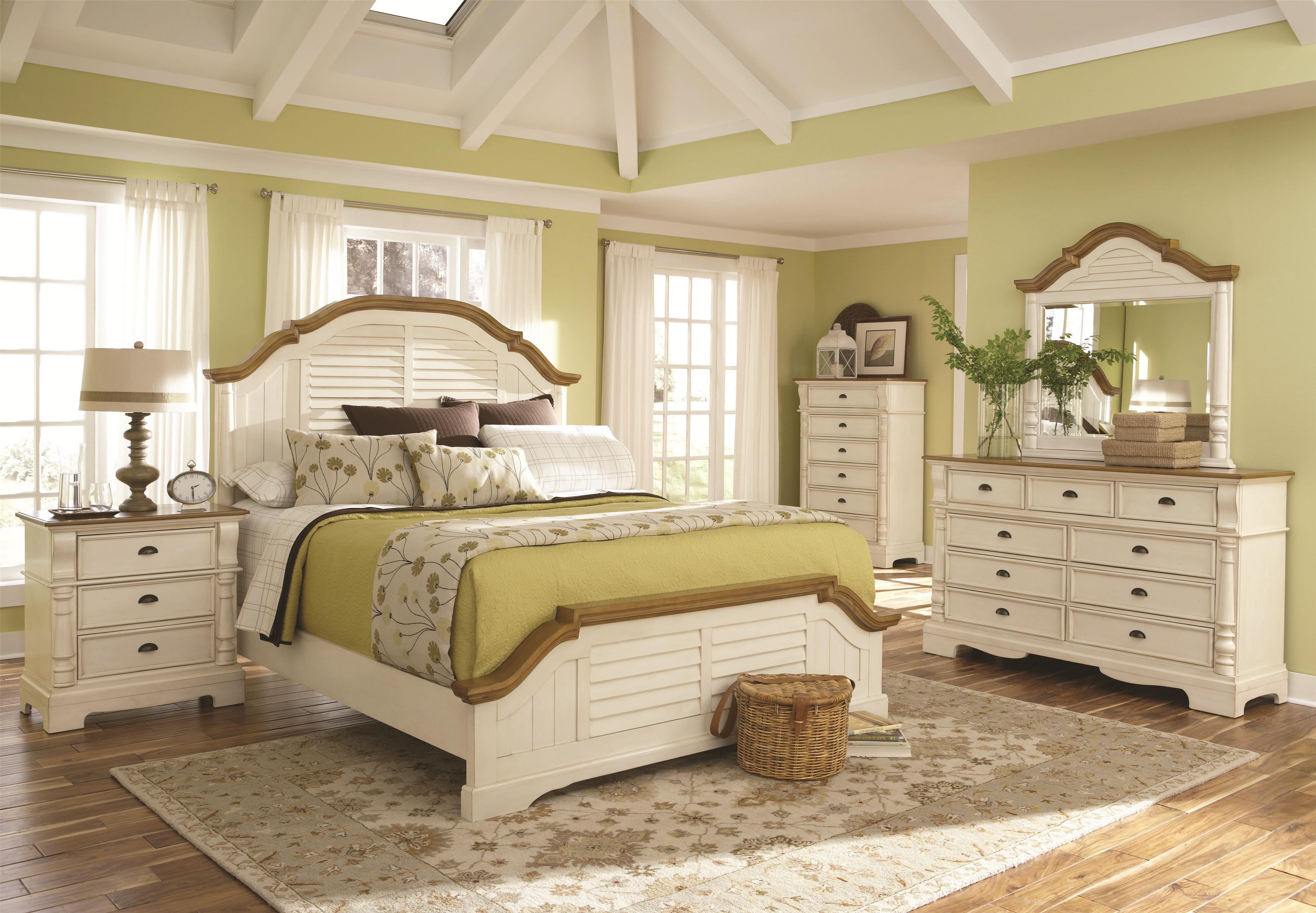 Gentil Coaster Oleta Queen Panel Bed With Shutter Detail   Coaster Fine Furniture