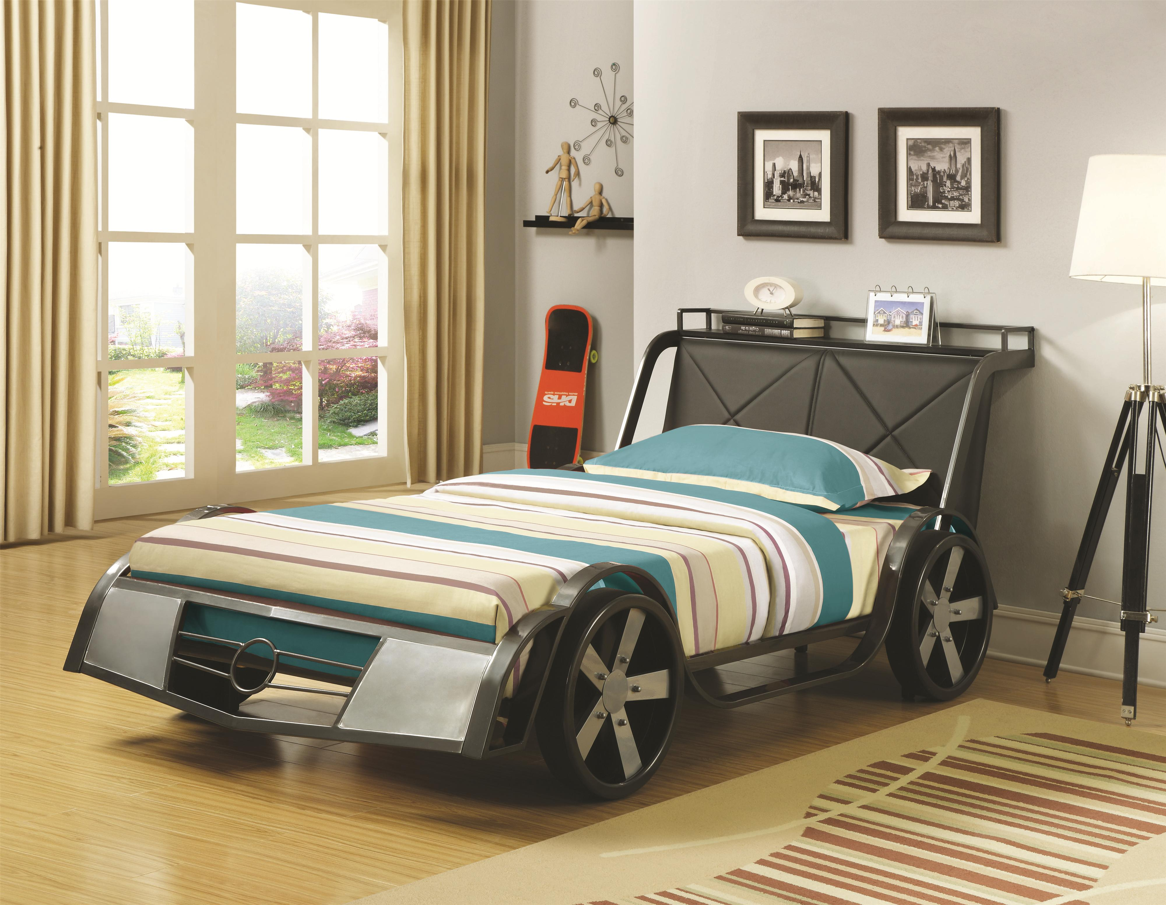 coaster novelty beds jeep twin bed coaster fine furniture - Coaster Bed Frame
