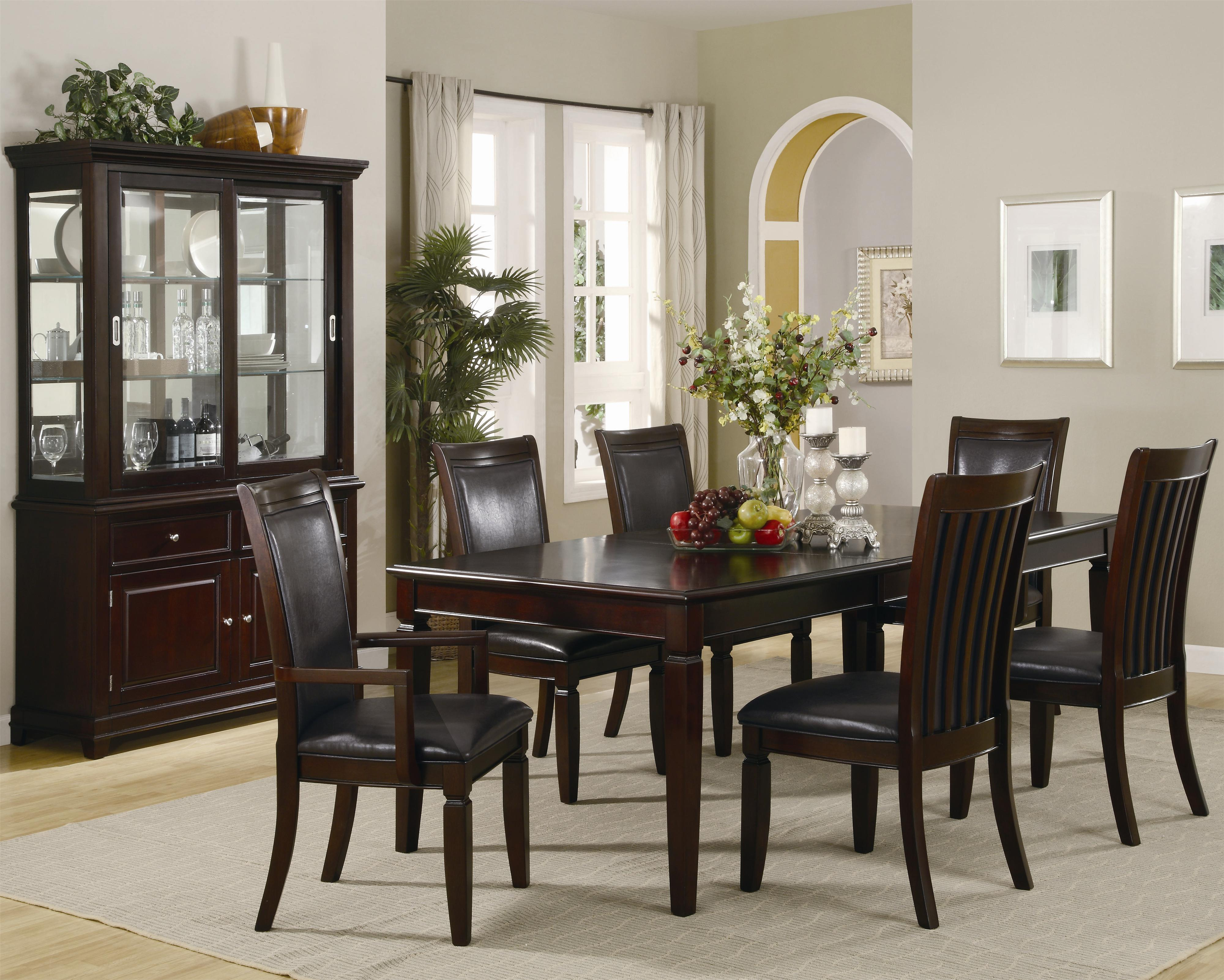 Formal dining room tables and chairs - Coaster Ramona Formal Dining Room Buffet With Hutch Coaster Fine Furniture