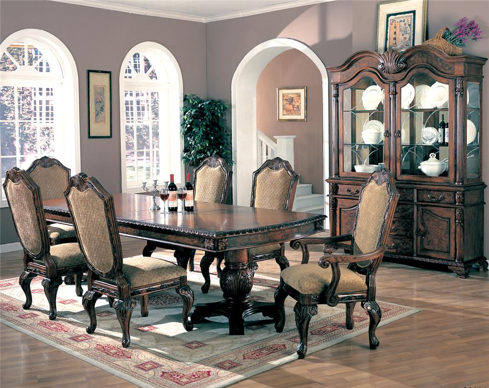 coaster saint charles 7 piece dining set - coaster fine furniture