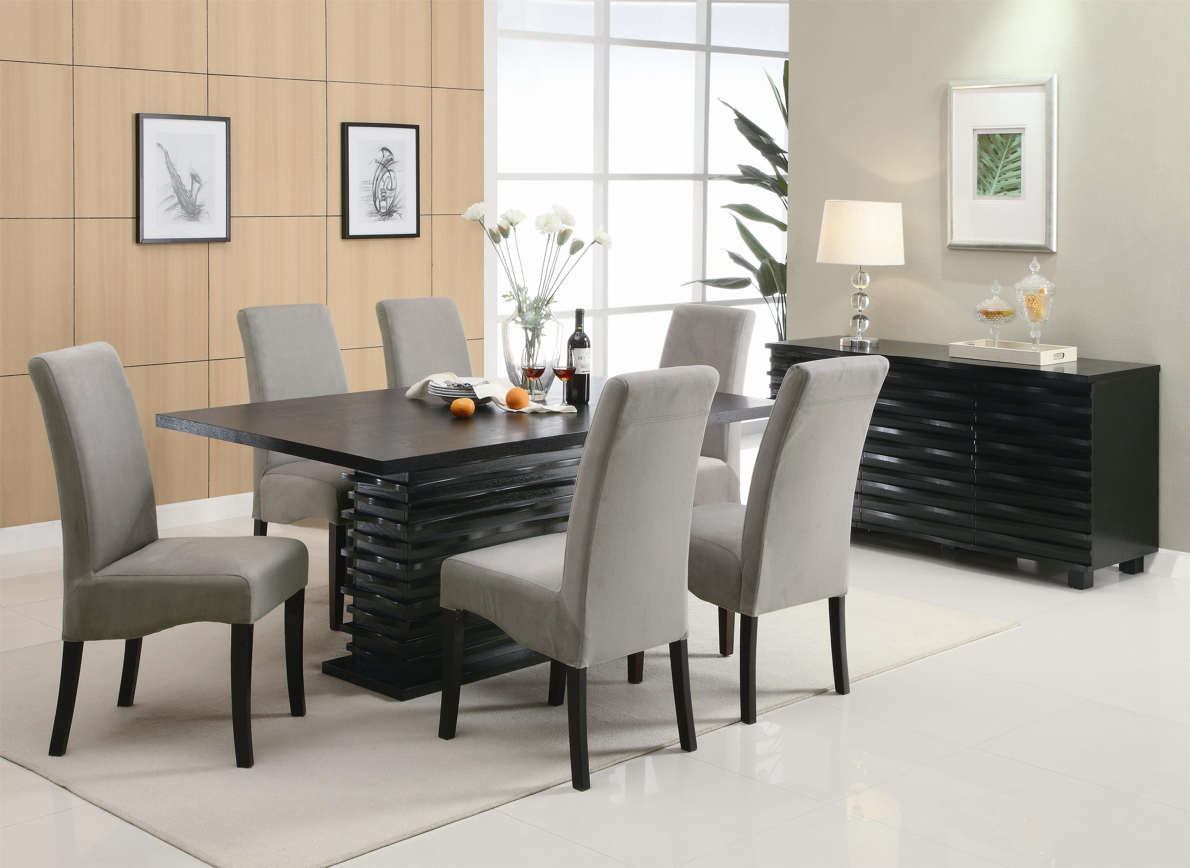 & Coaster Stanton Contemporary Dining Table - Coaster Fine Furniture