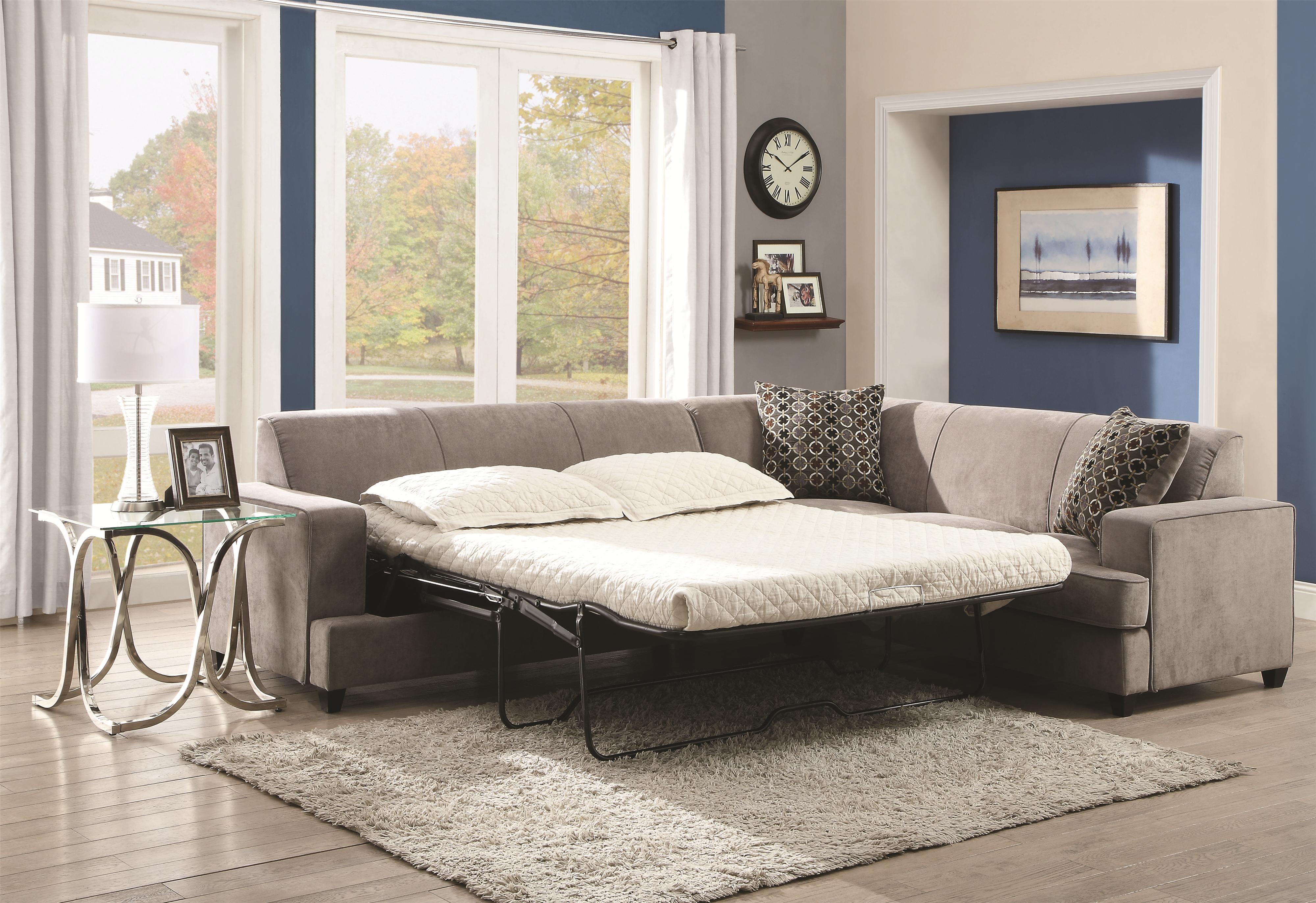 queen left product facing living with sectional athina room sleeper furniture sectionals piece charcoal item bed sofa
