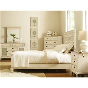 Coventry Two Tone Full/Queen Bedroom Group By Riverside Furniture .