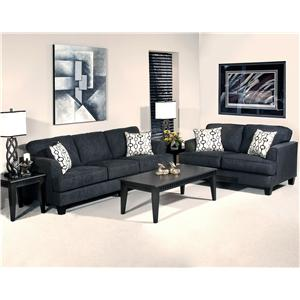 Serta Upholstery by Hughes Furniture All Living Room Furniture ...