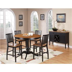 Candice Casual Dining Room Group By Steve Silver .