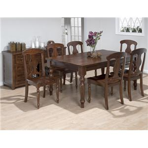 Jofran Casual Dining Room Group Store Barebones