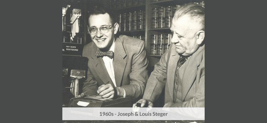 Joseph & Louis Steger in the 1960s