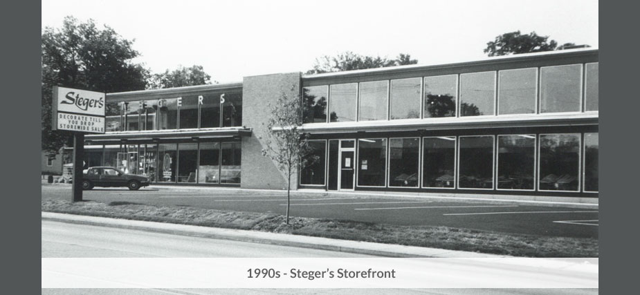 Stegers 1990s storefront