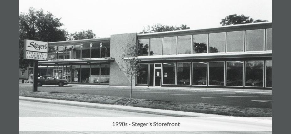 Stegers 1990s storefront