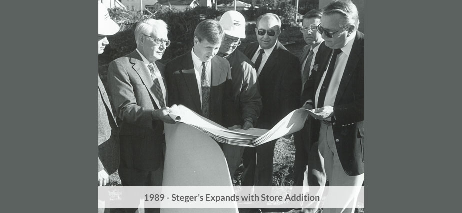 Steger's Expands with Store Addition
