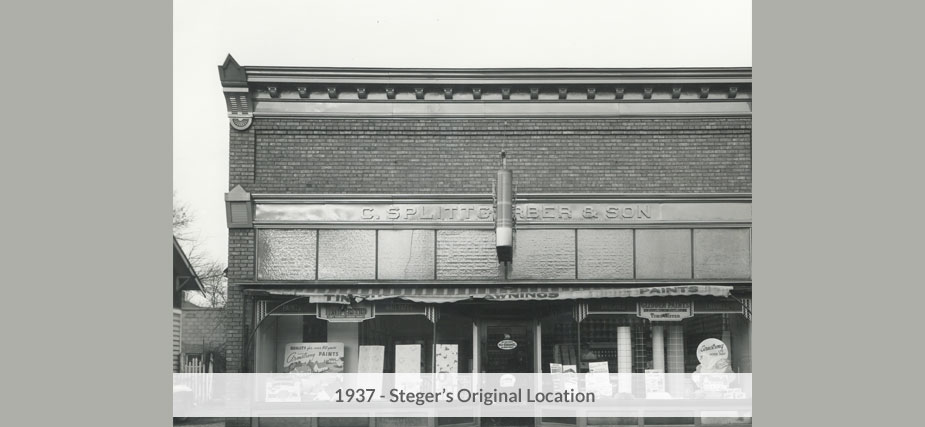Steger Original Location in 1937