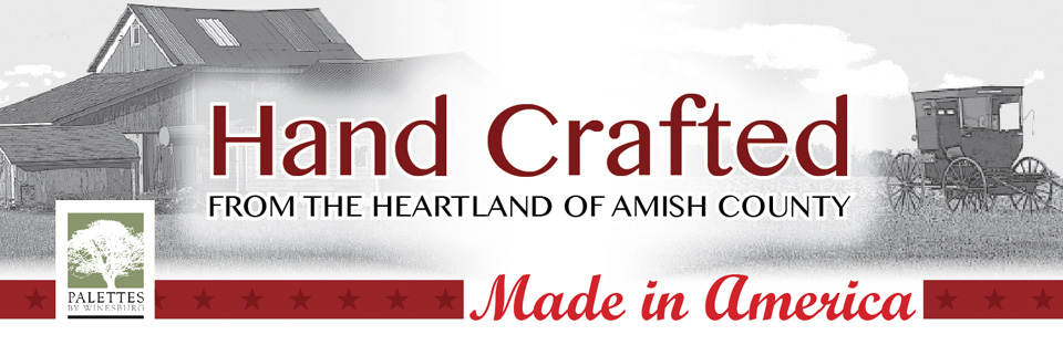 handcrafted from the heartland of amish country