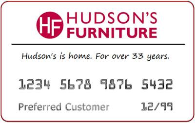 Hudson's Credit Card