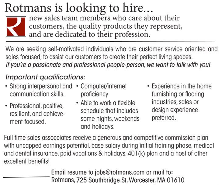 Jobs At Rotmans