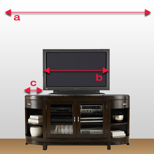 Tv stand buying guide from great american home store for American furniture warehouse tv stands