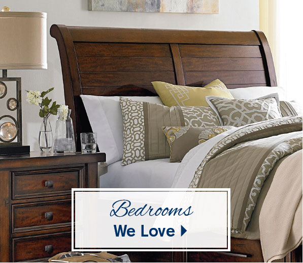 bedrooms we love