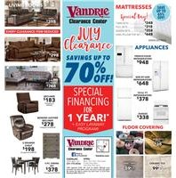 Superbe Current Promotions At VanDrie Home Furnishings: