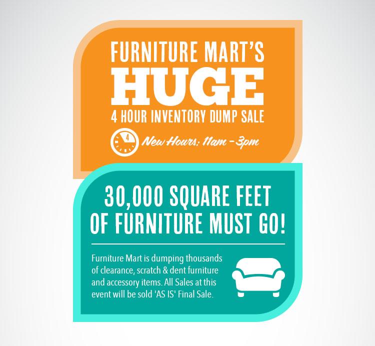 Jacksonville Furniture Mart Warehouse Sale