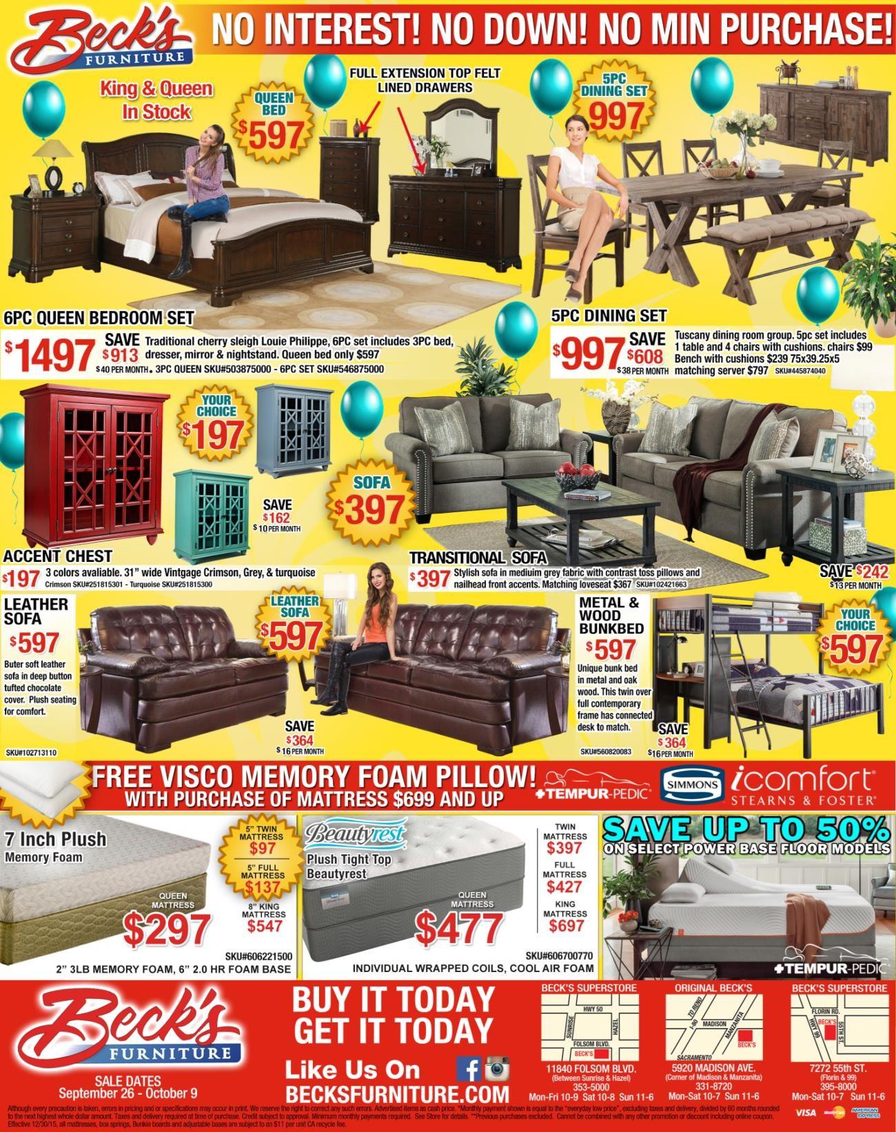 Original Beck\'s - Carmichael, California 95608 Furniture Store