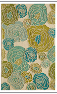Rugs America Lenai Blue Dahlia at Johnny Janosik