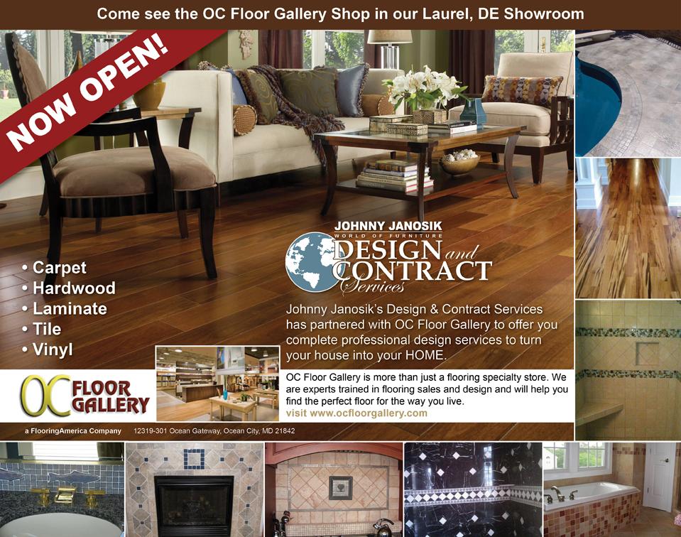 OC Floor Gallery | Johnny Janosik | Delaware, Maryland, Virginia, Delmarva