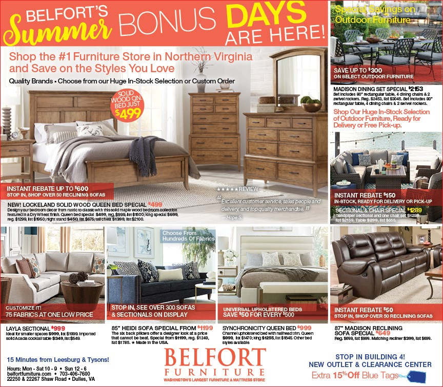 Belfort Furniture Dulles Sterling Virginia 20166 Furniture Store