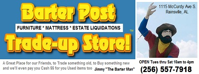 Barter Post Trade-Up Store Rainsville, AL