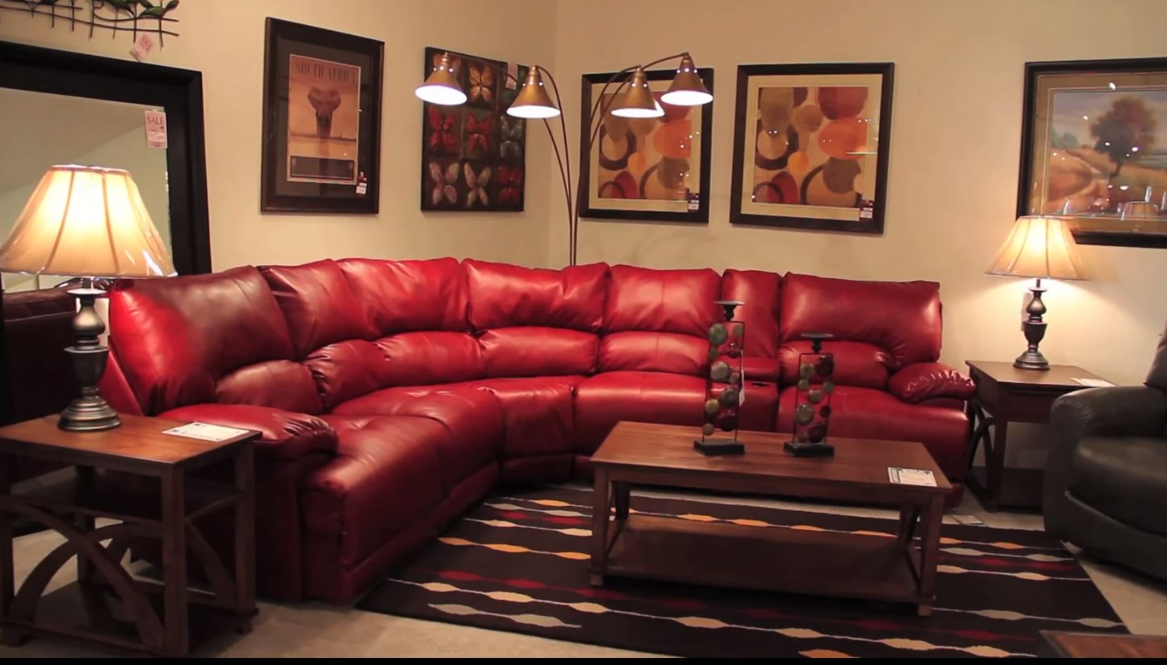 Leather Sectionals at Van Hill Furniture