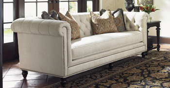 A Classic Sofa Can Be Dressed Up Or Down, The Furniture Equivalent Of The  Little Black Dress.