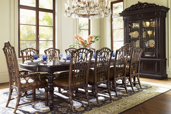 Dining room furniture is the secret to fun parties