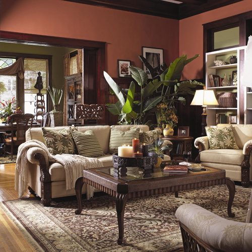 Florida inspired living add life to your home with Large living room plants
