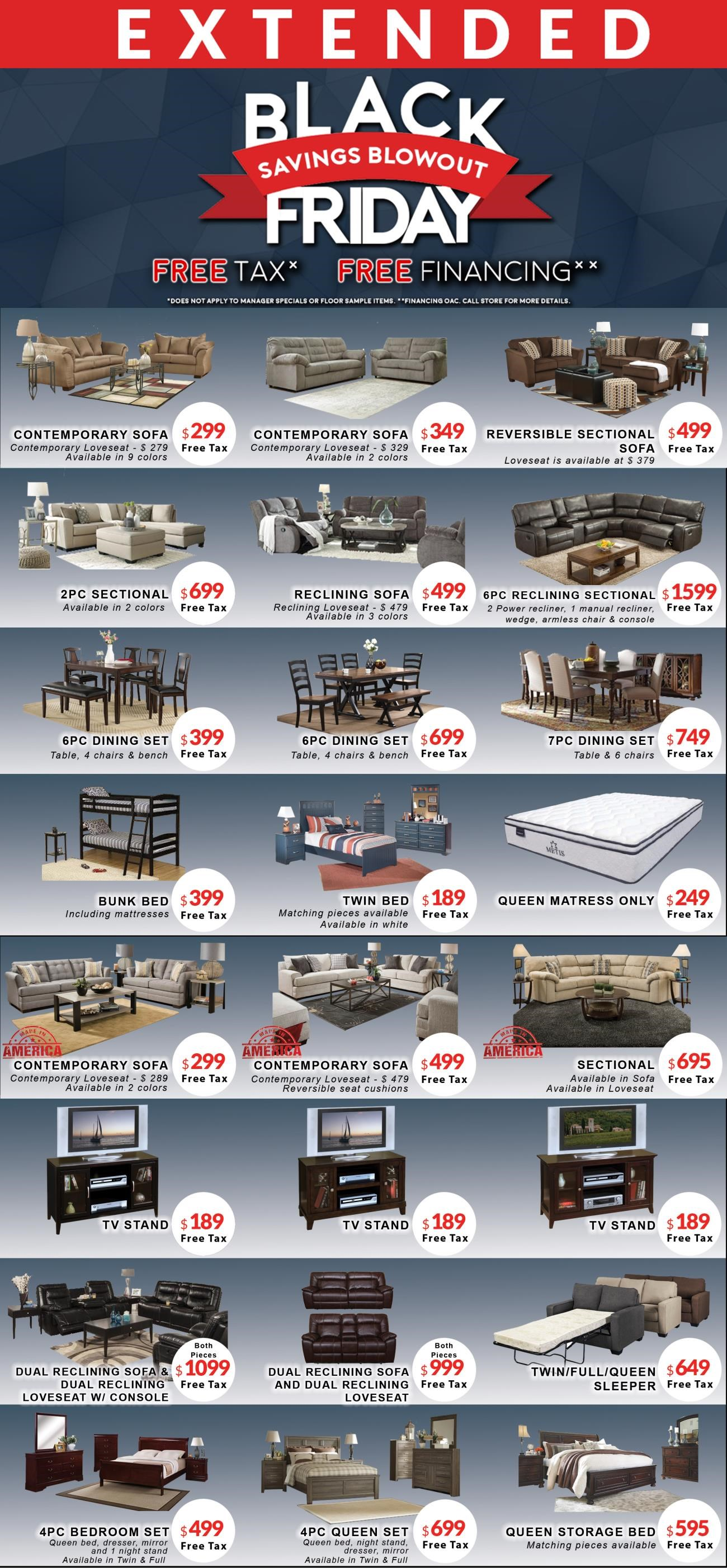 Current Promotions At Michaelu0027s Furniture Warehouse: