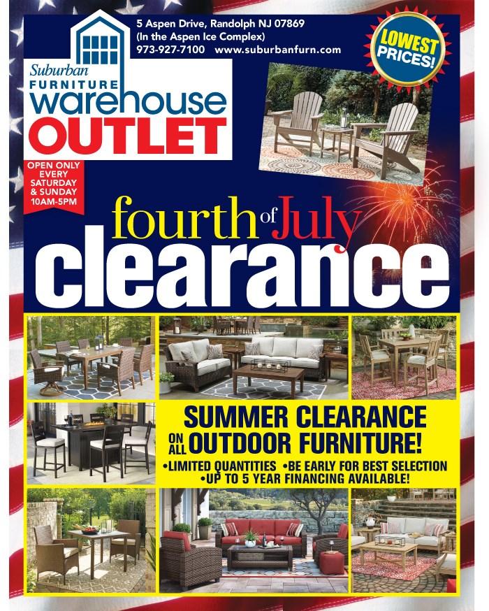 Suburban Furniture Warehouse Pickup Location Randolph New Jersey 07869