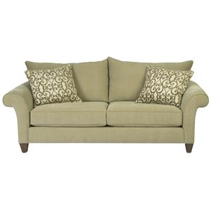 18400 Two Over Two Contemorary Sofa By Alan White