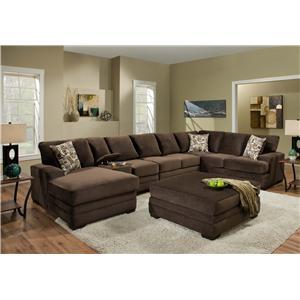 American Furniture Sectional Sofas Barebones