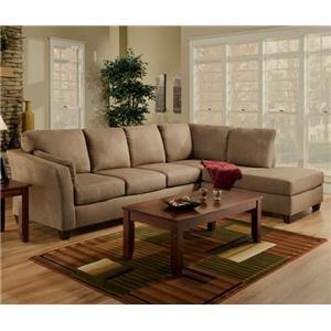 Superb L Shaped Upholstered Stationary Sectional