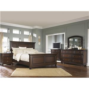 Ashley Furniture Porter 7 Drawer Dresser Amp Mirror Combo