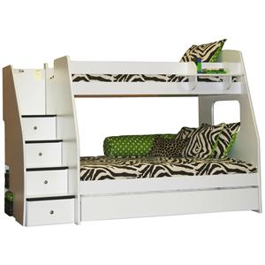 bunk bed trundle full. fantastic full bunk bed with trundle donco