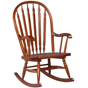 Home Accents Hudson Rocker By Carolina Chair And Table
