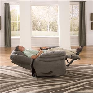 joyner lay flat recliner by catnapper