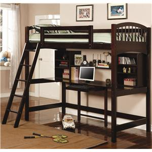 Twin Workstation Bunk