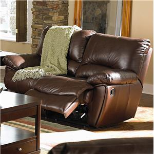 Dual Power Reclining Love Seat