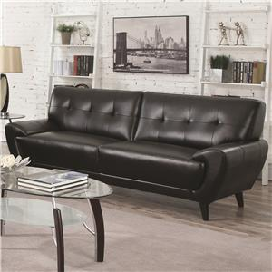 coaster leskow sofa