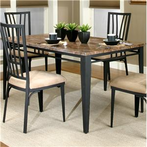 Beautiful Cramco Trading Company   Lingo Rectangular Table W/ Faux Marble Top By  Cramco, Inc