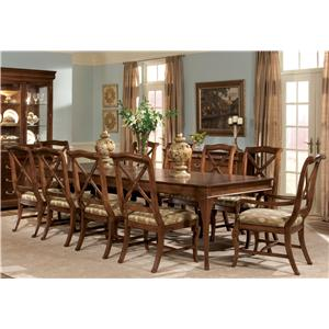Delshire Eleven Piece Dining Set With Two Table Leaves By Drexel Heritage®