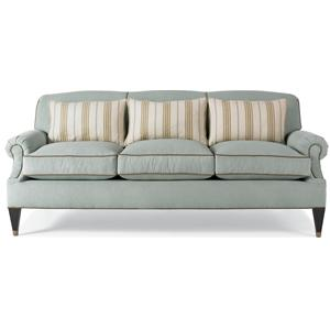 Options Upholstery Program MacKenzie Stationary Sofa W/ Rolled Arms By Drexel  Heritage®